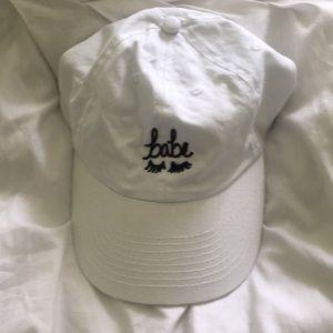 """""""Babe"""" hat"""